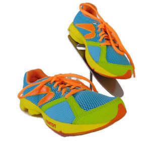 Newton Distance Green Teal Running Shoes 7 000613